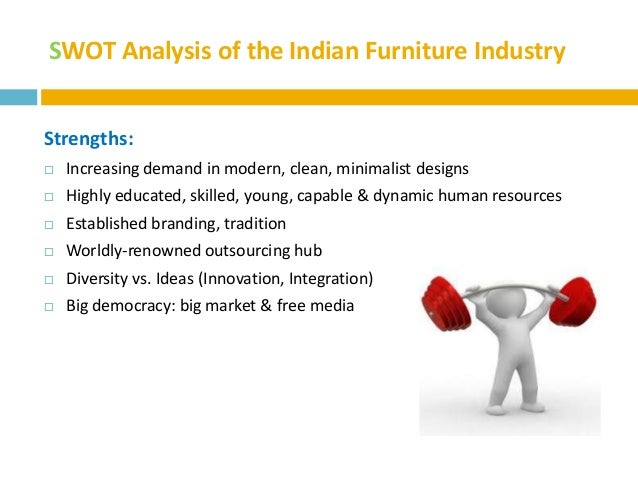 five swot analysis of indian food industry Scope and potential of indian aluminium industry:  strategic models like swot analysis and michael porter's five forces theory are used to analyse the indian.