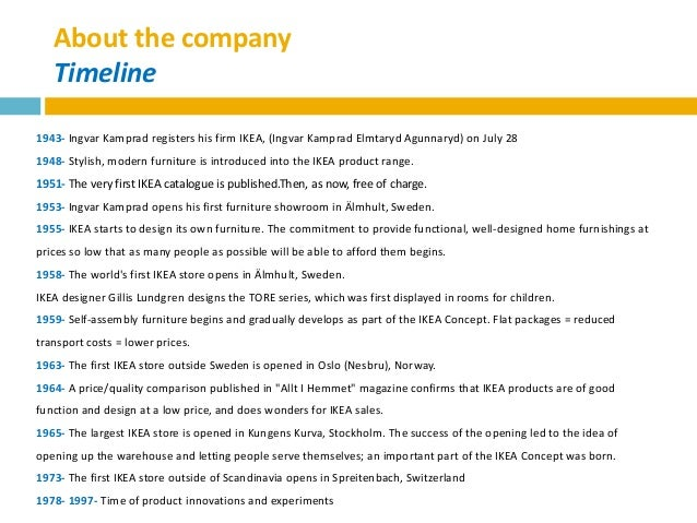 ikea case study 3 essay Question 24 read chapter 3 case study ikea: design and pricing on pgs 68-71 in your textbook answer the questions at the end of the study format for case study.