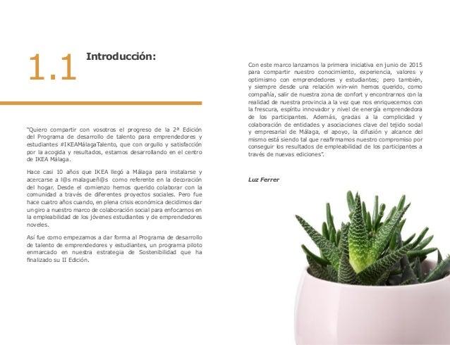 Memoria II Edición IKEA Málaga Talento