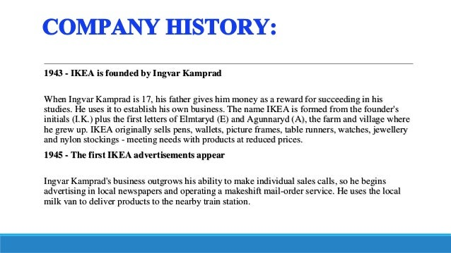 Ikea was established by ingvar kamprad marketing essay