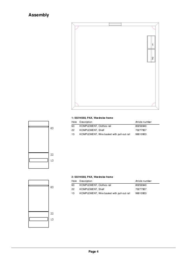 Ikea Pax Wardrobe Dimensions