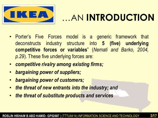 pricing strategy take an example of ikea Ikea: more than low prices for example , instead of relying ikea's focused cost leadership strategy finds the firm offering some differentiated features.