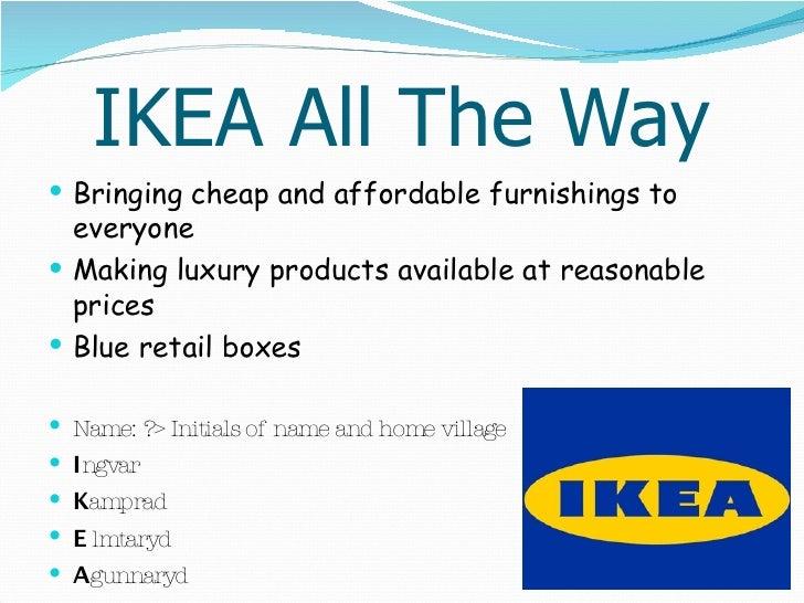 ikea ppt, Presentation templates