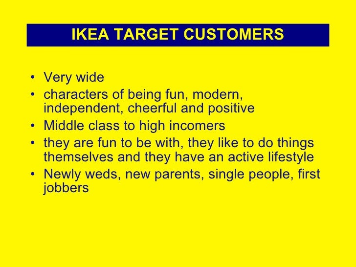 ikea marketing plan This is a video for my group assignment about ikea's marketing plan in this video we explain about the strategy, swot, and the structure of ikea.