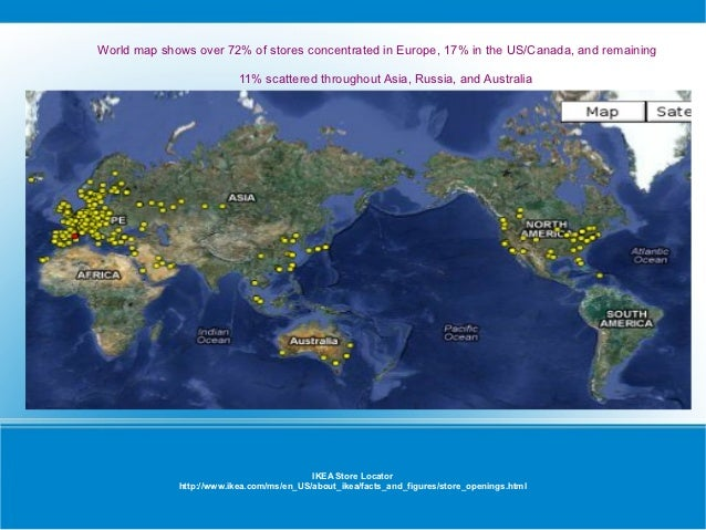 Ikea Usa Locations Map Maps Show Images
