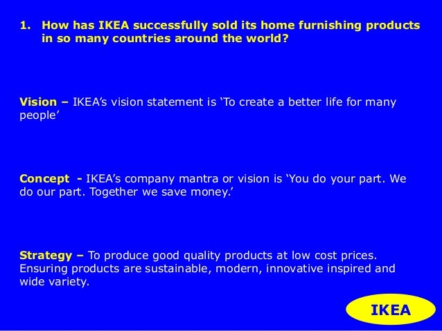 a discussion on what ikea should do to better their company What unions do: how labor unions affect jobs and the economy  a better summary of the economic research is that  likely than other workers to report losing their job because their company.
