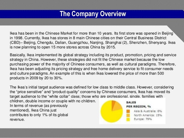 How Ikea Manages Cultural Issues in China Operations Essay Sample