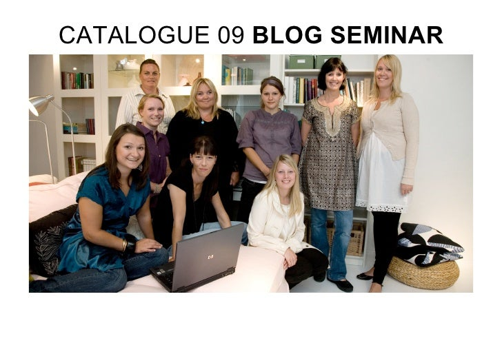 CATALOGUE 09 BLOG SEMINAR
