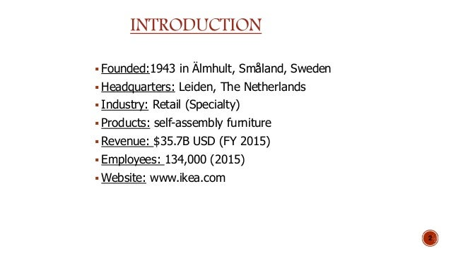 ikeas global strategy Ikea's international expansion clayton harapiak hongik university 1 this case concerns a global retailing firm that is dealing with strategic management and corporate and business strategies ikea's main corporate strategy focuses on offering customers low priced contemporary.