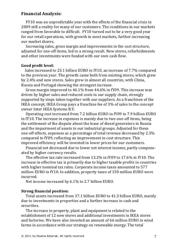 ikea the global retailer case study
