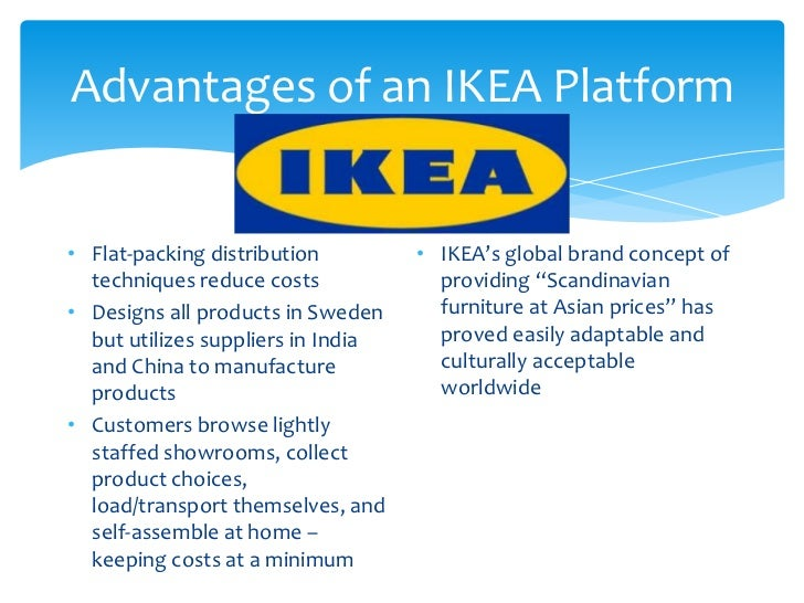 general presentation of ikea The most general layer is the macro environment when understanding of politicalman3503 strategic management 70 macro environment /external environment analysis ikea's managers need to understand how the environment strongly influences their company's strategies and operations1 pestle analysis lying around.