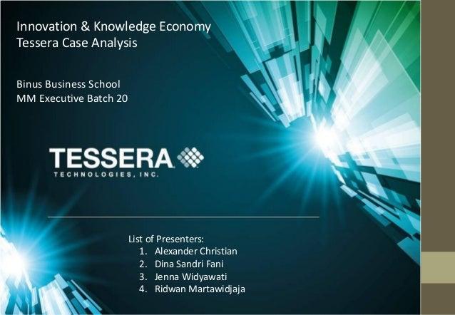 List of Presenters: 1. Alexander Christian 2. Dina Sandri Fani 3. Jenna Widyawati 4. Ridwan Martawidjaja Binus Business Sc...