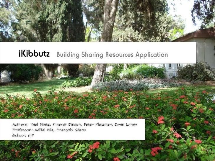 I kibbutz