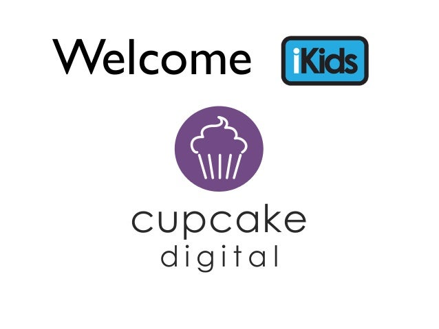 Welcome  cupcake   digital