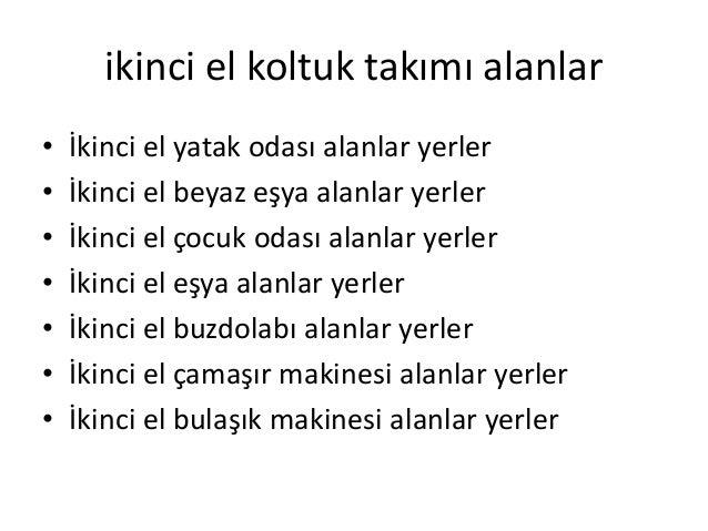 Altınşehir 2.el eşya alanlar yerler 0537 788 56 87 Slide 2