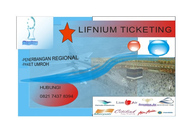 Iklan tiket