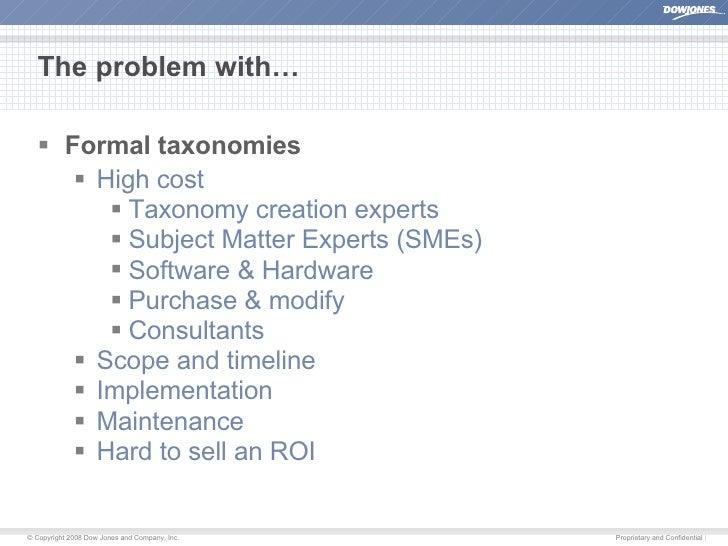 User-Driven Taxonomies Slide 2