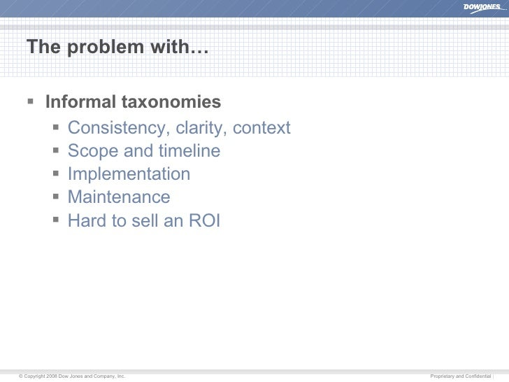 User-Driven Taxonomies Slide 3