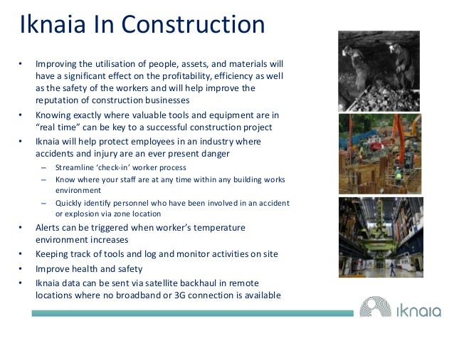 Iknaia In Construction  • Improving the utilisation of people, assets, and materials will  have a significant effect on th...