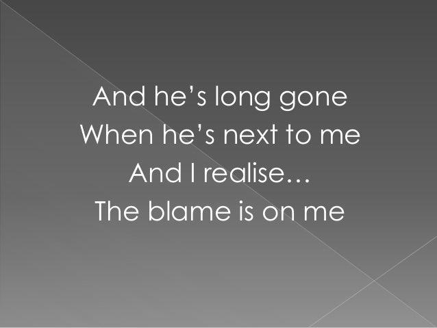 I Knew You Were Trouble Lyrics