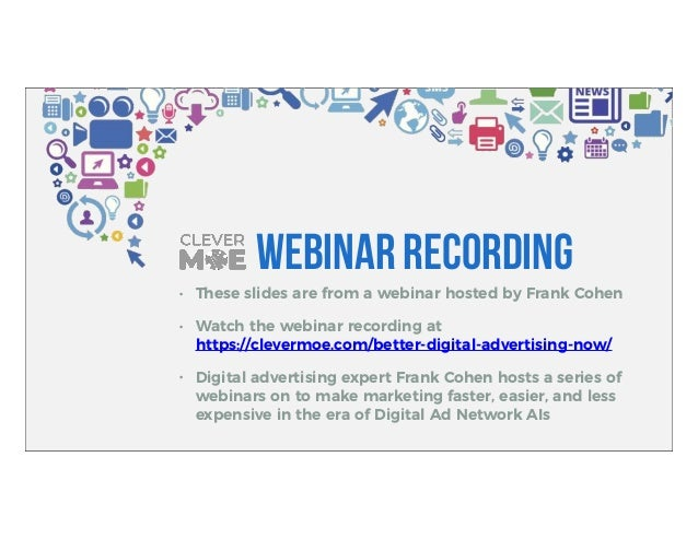 I know facebook ads, how do i expand to twitter, linked in, youtube Slide 2