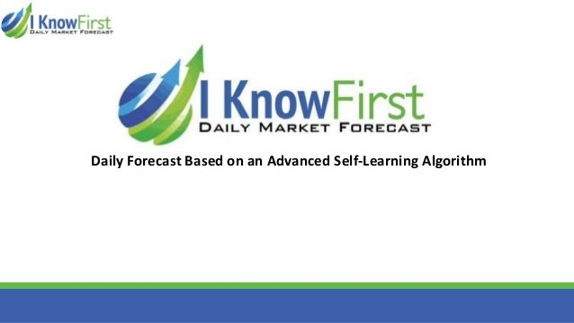 Daily Forecast Based on an Advanced Self-Learning Algorithm