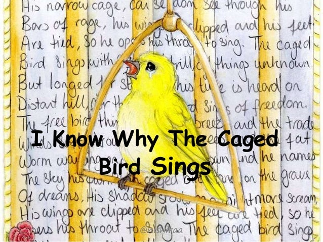 i know why the caged bird sings metaphor