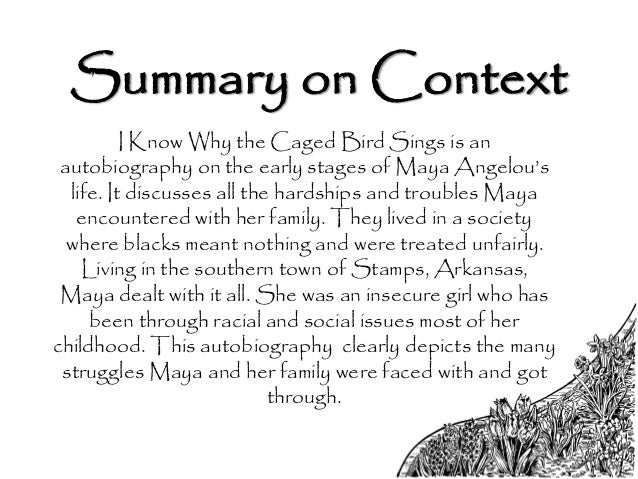 5 paragraph essay on i know why the caged bird sings 7th literary analysis i know why the caged bird sings by maya angelou & under the rice moon by rhiannon puck you can choose from the following: theme tone imagery symbolism setting social trends at least one quote per body paragraph 13 details at least 5 paragraphs no personal pronouns present tense.
