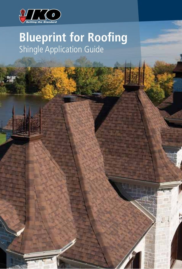 Blueprint for Roofing Shingle Application Guide