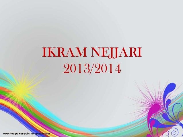 IKRAM NEJJARI 2013/2014