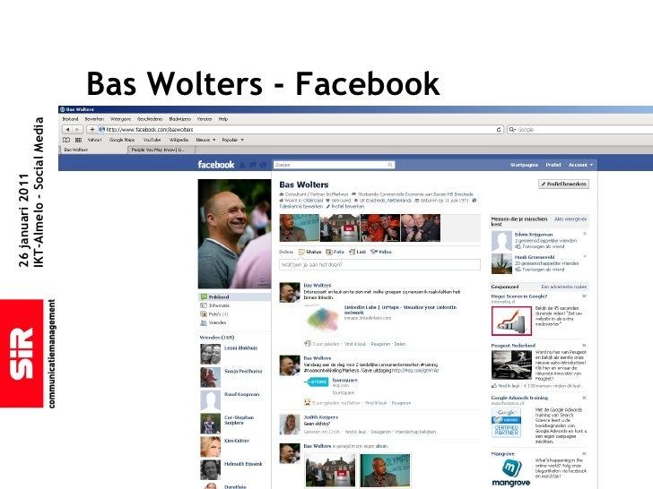 sociale media babbelen onbeschermd in Almelo