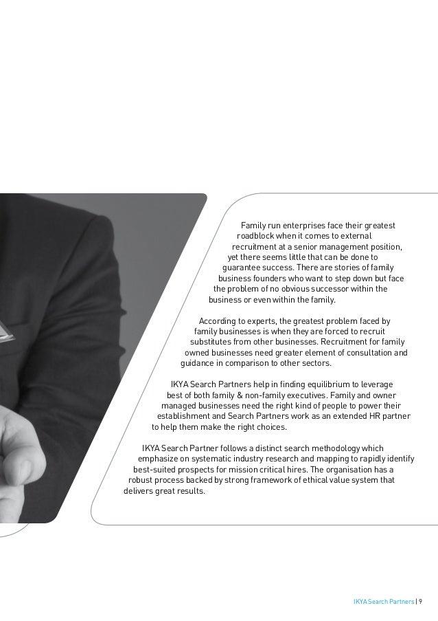 Ikya Search Partners Brochure