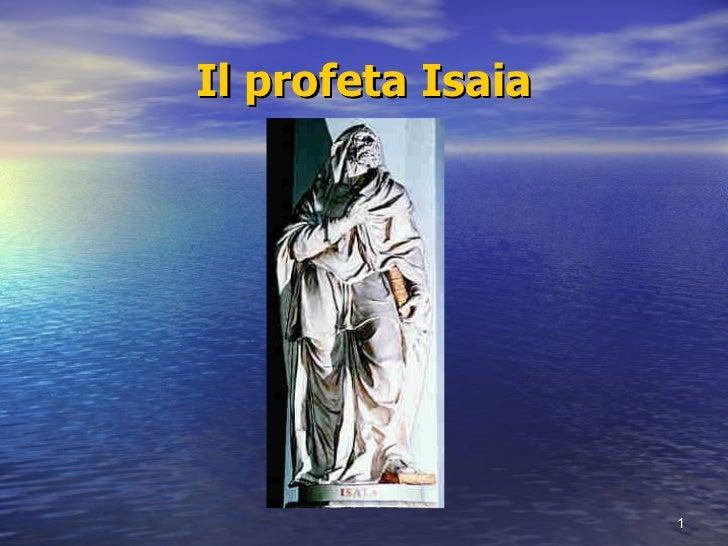 Il profeta Isaia