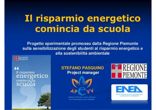Il risparmio energetico comincia da scuola for Stufa radiante a risparmio energetico