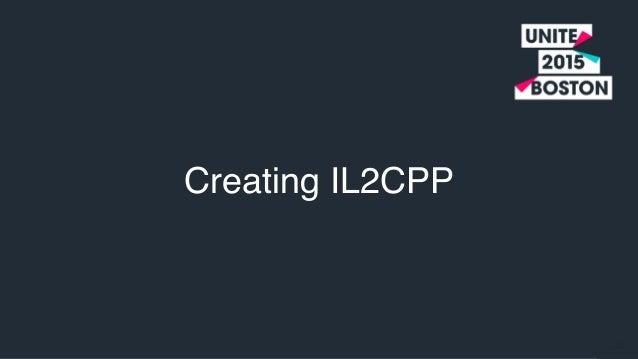 IL2CPP: Debugging and Profiling