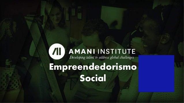 Capa Empreendedorismo Social