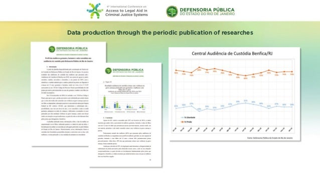 Data production through the periodic publication of researches