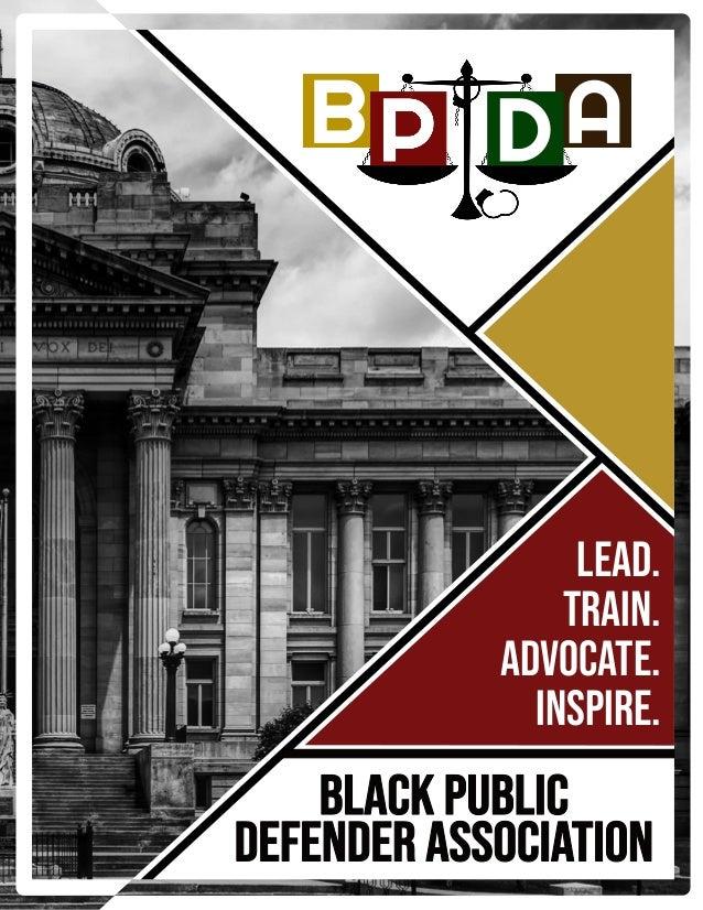 Lead. Train. Advocate. Inspire.