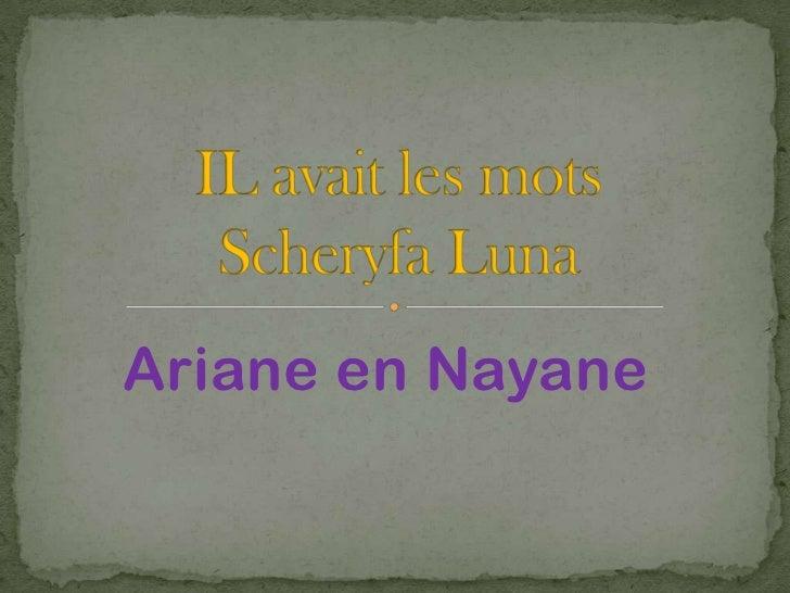 Ariane en Nayane