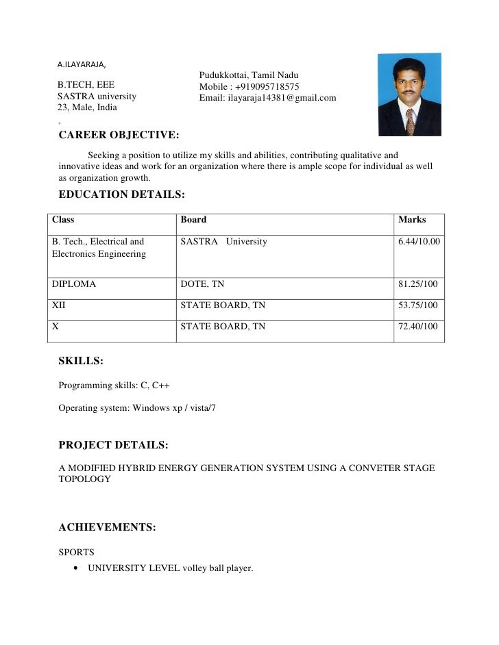 Perfect Ilayaraja Resume Pdf. A.ILAYARAJA, Pudukkottai, Tamil ... Regard To Google Resume Pdf