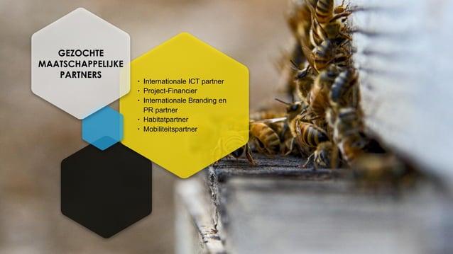• Internationale ICT partner • Project-Financier • Internationale Branding en PR partner • Habitatpartner • Mobiliteitspar...