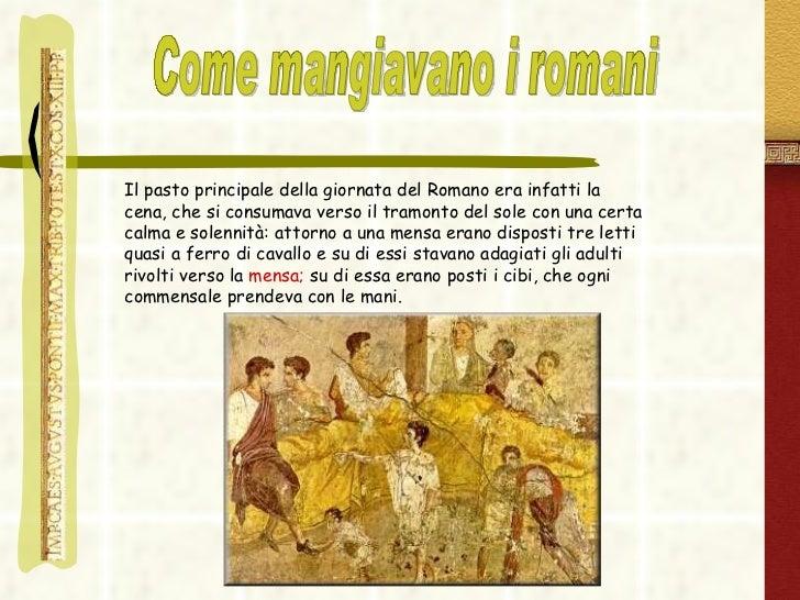 Il cibo nell 39 antica roma for Cibo romano