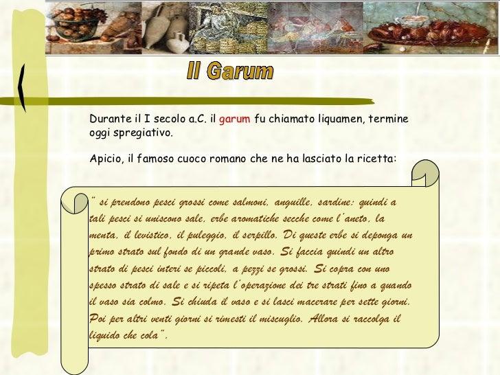 Il cibo nell 39 antica roma for Ricette degli antichi romani