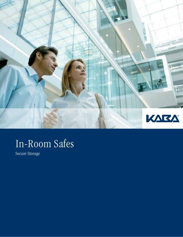 In-Room Safes Secure Storage