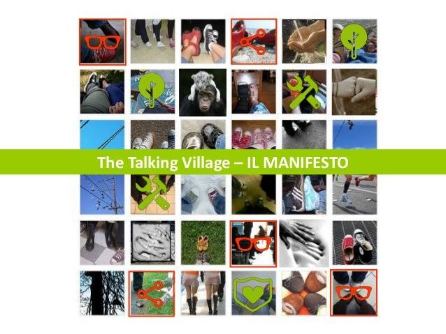 The Talking Village – IL MANIFESTO