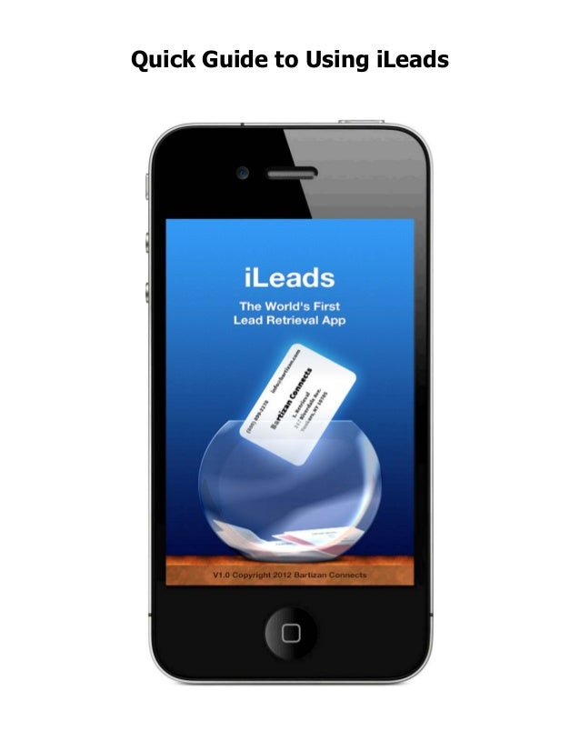 Quick Guide to Using iLeads