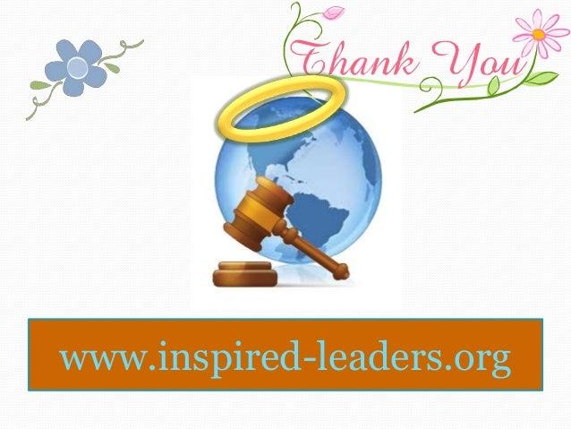 Inspired-leaders.org ProgramRecap2014