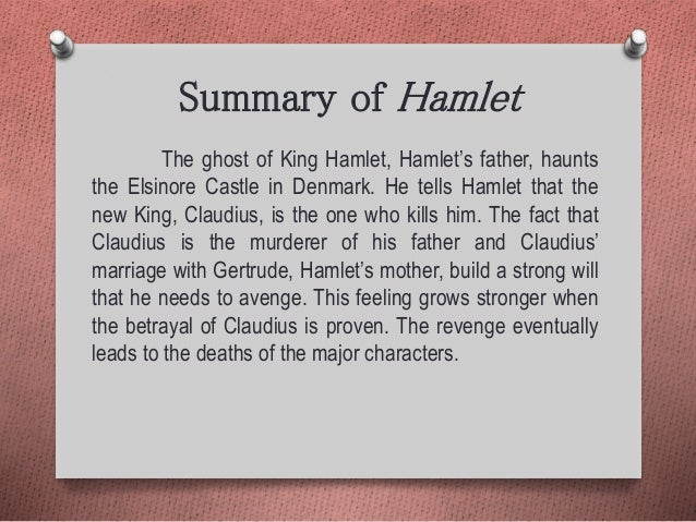 hamlet as a revenge tragedy