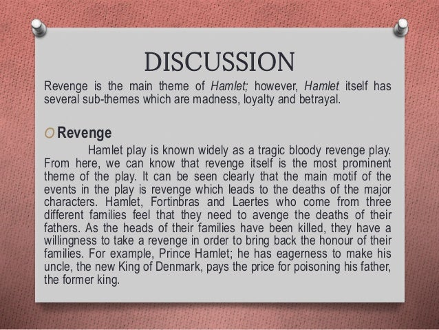 an analysis of the chain of events in hamlet a play by william shakespeare Hamlet, like shakespeare's other plays, is written in a combination of verse (poetry) and prose (how we talk every day) but, as polonius would say, there's method in the madness versein hamlet.
