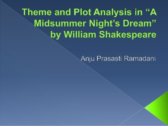 dream essay midsummers night A Midsummer Night's Dream Essay